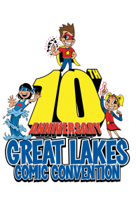 logo for Great Lakes ComicCon
