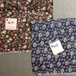 Fabric Choices: floral